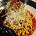 四川担々麺 赤い鯨 - 汁なし坦々麺辛さ2