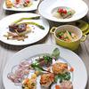 カヴォード シャサーニュ - 料理写真:タパス3種盛り合わせ、オードブル、メイン、リゾット、自家製シャーベット
