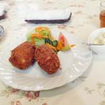 レストラン一力 - 料理写真:カニクリームコロッケ