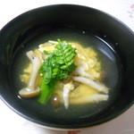 11770434 - 温物:白魚と黄ニラの玉子とじ