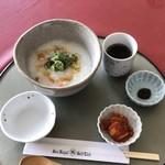 サンロイヤルゴルフクラブ - ●魚介類と野菜の韓国粥¥560税抜