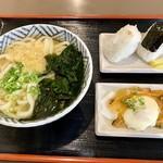 ぶっかけうどん 大円 - 料理写真:うどん定食。