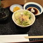 117713516 - サラダ、ひじきの煮物 ♪