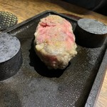 Itarianwarudodainayamigadentenjin - 国産黒毛和牛100% 極限ハンバーグステーキ