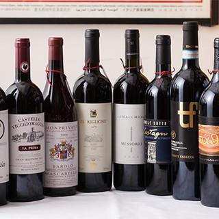 オリーブオイルと好相性な本場イタリアのワインが勢揃いしました