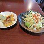 K+ - ミニサラダ+チジミ