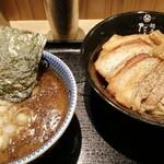 京都 麺屋たけ井 - 特製つけ麺(小)