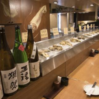 1年を通して生牡蠣・牡蠣料理が楽しめます!