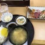 ごはん処 藤井堂 - 刺身定食