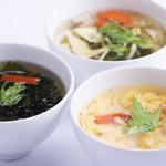 焼肉処 東風 - スープ各種