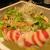古民家 焼き鳥ダイニング とりぢゅう - 穴子とホタテのカルパッチョ的なサラダ