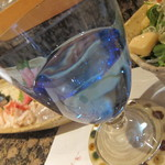 11773418 - 日本酒は綺麗なグラスで