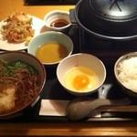 11773742 - 三ケ日牛の陶板焼定食(期間限定)