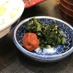 旬菜三山 - お新香