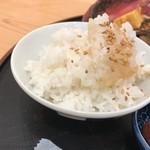 旬菜三山 - ご飯