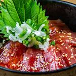 湘南とんび - まぐろの漬け丼