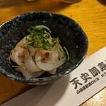 天史朗寿司 - 料理写真:イカの酒盗和え