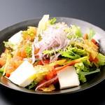 とりの介 - 豆富のサラダ