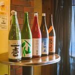 立ち飲み処 いるま - ドリンク写真:店長厳選の日本酒
