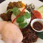 マレーアジアンクイジーン - 郷土料理の盛り合わせ