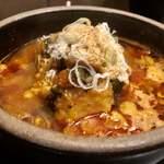 炭火焼肉徳重 - テールスープ