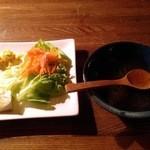 カタツムリ - サラダ・スープ