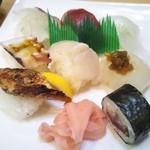寿司一心 - にぎり定食 1,100円