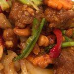 タイ料理 パヤオ - ガイ・パッド・メット・マムアン Gai Phad Med Mamuan (鶏肉とカーシュナッツ炒め)