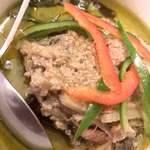 タイ料理 パヤオ - ゲーン・キョウワン・ガイ Geang Kiewwan Gai(鶏肉入りグリーンカレー)