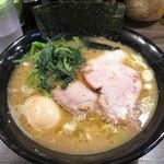 クックら - 料理写真:ラーメン 720円 味付玉子 100円