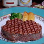 小松屋 - 特選牛ヒレ肉網焼ビフテキ