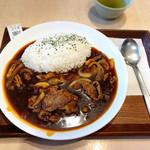 嬉野パーキングエリア(上り線)フードコート - 松阪肉のハッシュドビーフ
