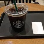スターバックスコーヒー - ●ドリップコーヒー(アイス)Tall 350㎖ 363+One More Coffee 110+税10%込=473円 2019年10月