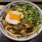 丸亀製麺 - 牛味噌煮(温玉) 並660円