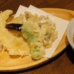晃陽軒 - 野菜天ぷら 250円