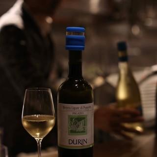 【こだわりのイタリアワイン】グラスワインは常時10種類以上