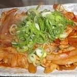 得一 - 辛い野菜炒め
