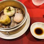 Chinese Restaurant Season - 飲茶3種(海老ニラ饅頭・海老餃子・広東焼売)
