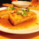 117780247 - 豆腐の生姜焼き