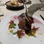 117781640 - 青森県の銀の鴨、胸肉ロティ、腿肉ブレゼ