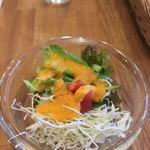 カフェ 呂久呂 - サービスサラダ
