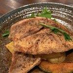 旬菜酒鉄板イチケン食堂 - イトヨリ鯛香草焦がしバターソース