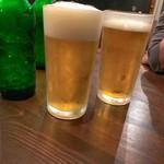 旬菜酒鉄板イチケン食堂 - ハートランドで乾杯