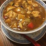 麒麟園 - 料理写真:レベル3!激辛麻婆豆腐