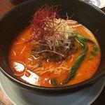 麒麟園 - レベル2!激辛担々麺