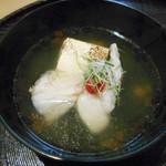 117789066 - 「アコウと焼き豆腐」