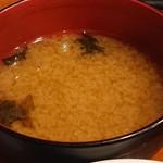 117790322 - シジミの味噌汁