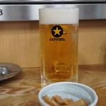 鳥竹 - ビール