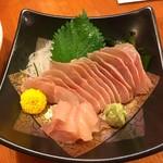 おでんの冨茂登 - 北海道ならでは、ホッケ刺身