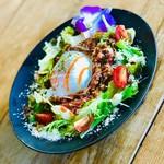 OOLOO - 料理写真:平飼いEM鶏卵の温玉タコライス